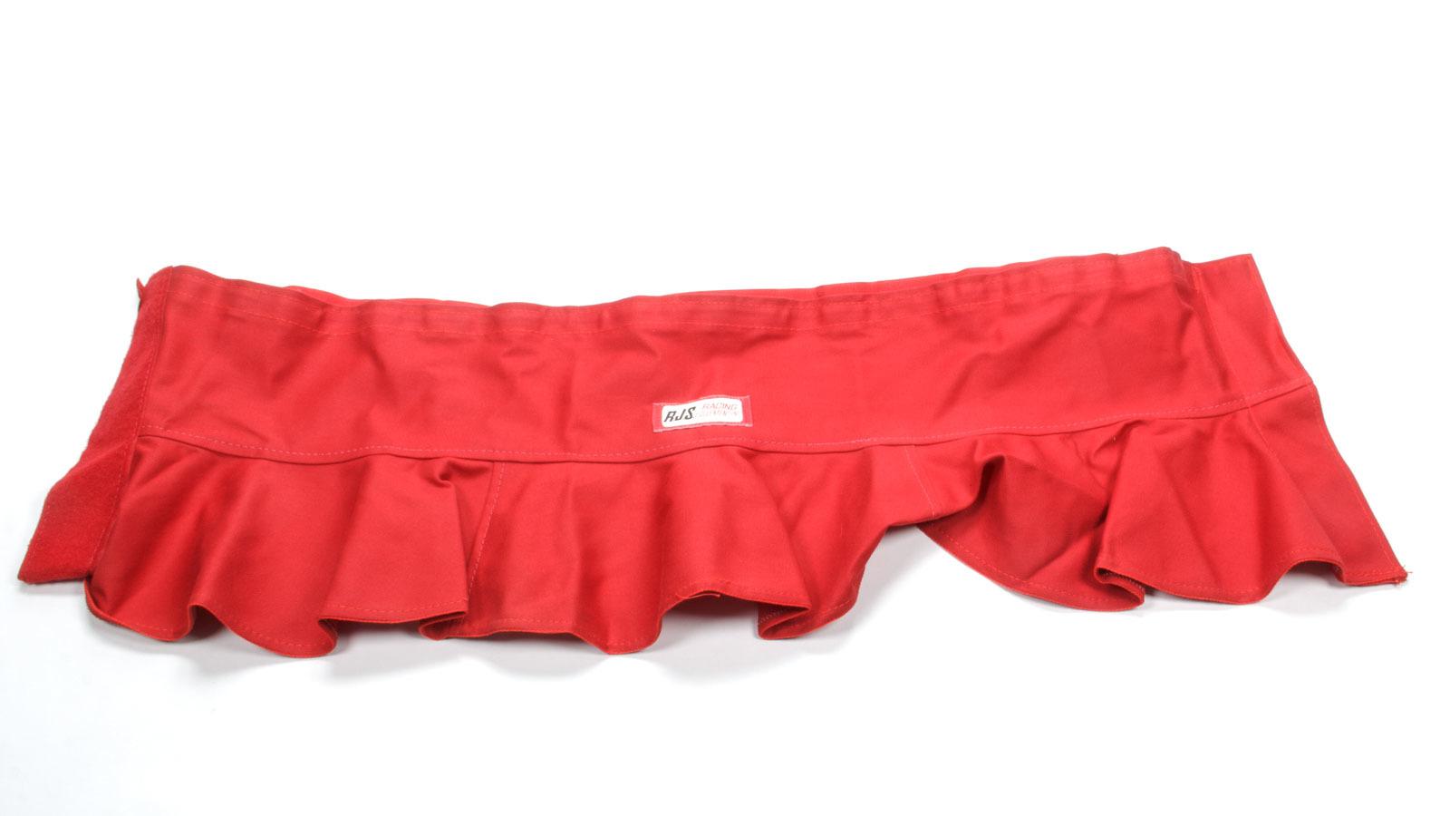 Rjs Safety Helmet Skirt- Red