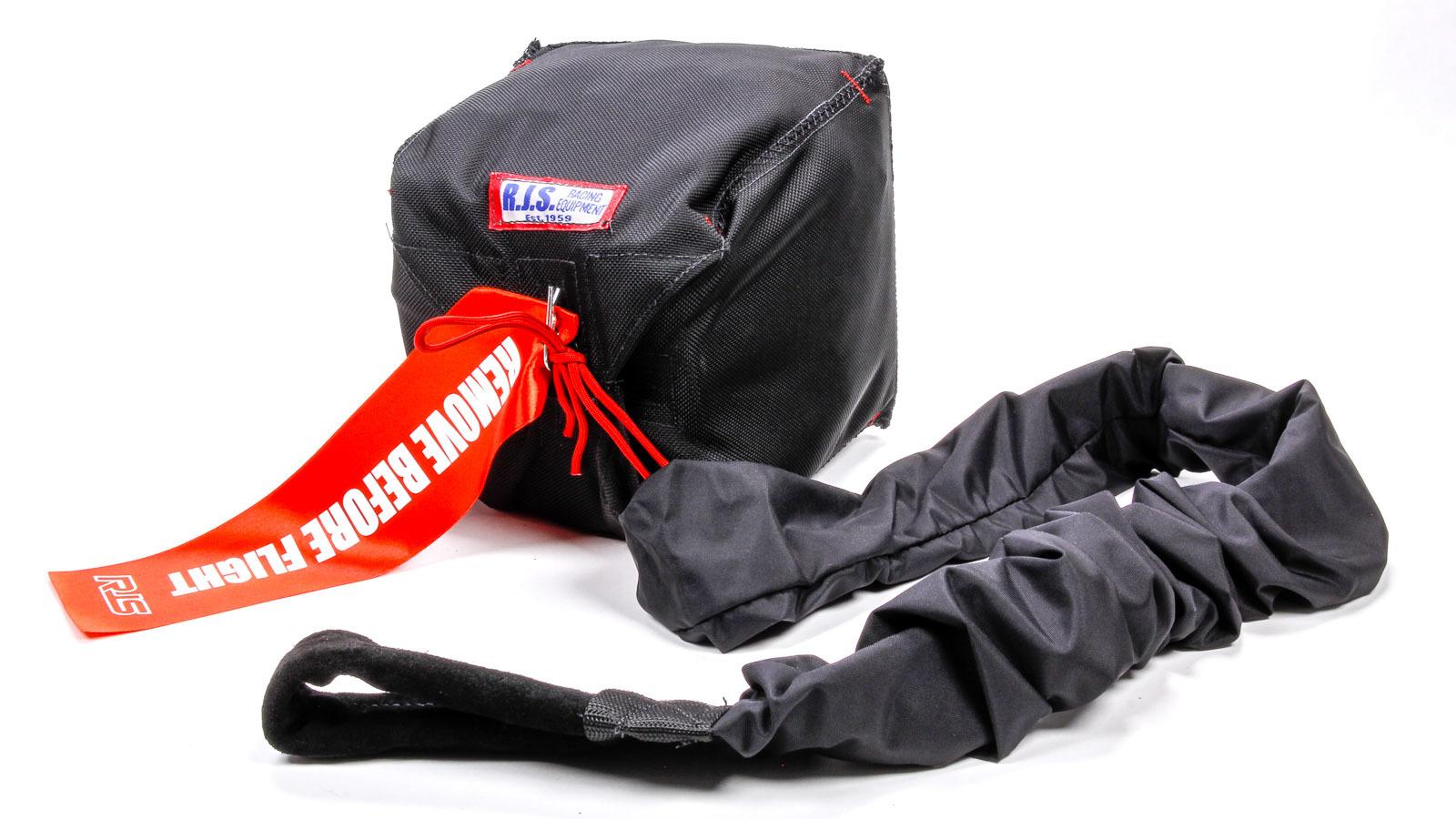 Rjs Safety Qualifier Chute W/ Nylon Bag and Pilot Black