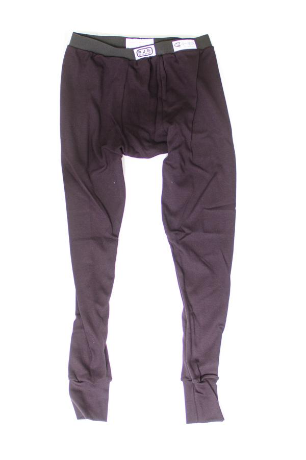 Rjs Safety FR Underwear Bottoms Blk Medium SFI 3.3