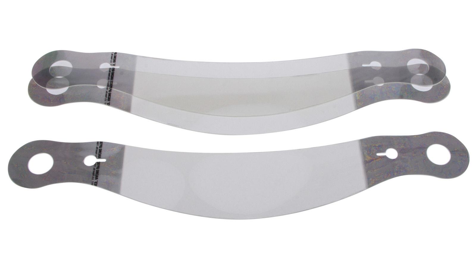 Racing Optics Laminated Tearoff Bell 287 Shield ZAMP PYR