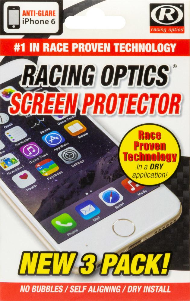 Racing Optics Screen Protectors For iPhone 6