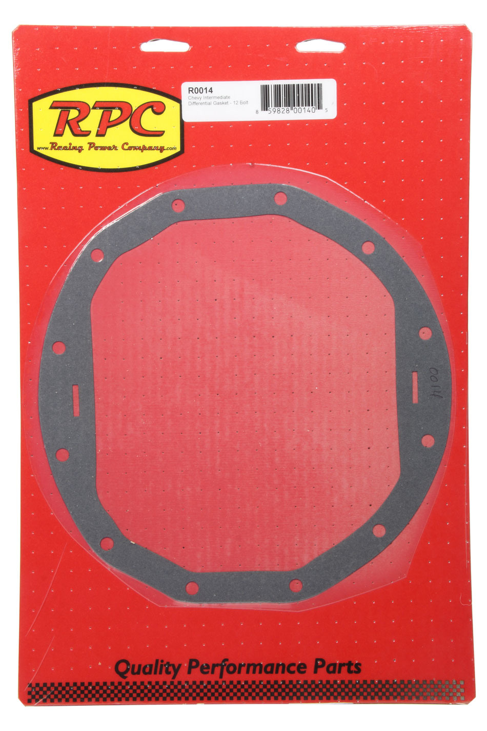 Racing Power Co-packaged Chevy Intermediate Diff Cover Gasket 12 Bolt