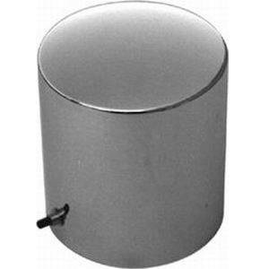 Racing Power Co-packaged Chrome Steel Oil Filter Cover