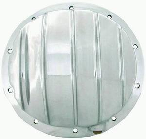 Racing Power Co-packaged Polished Aluminum Diff Cover 10 Bolt