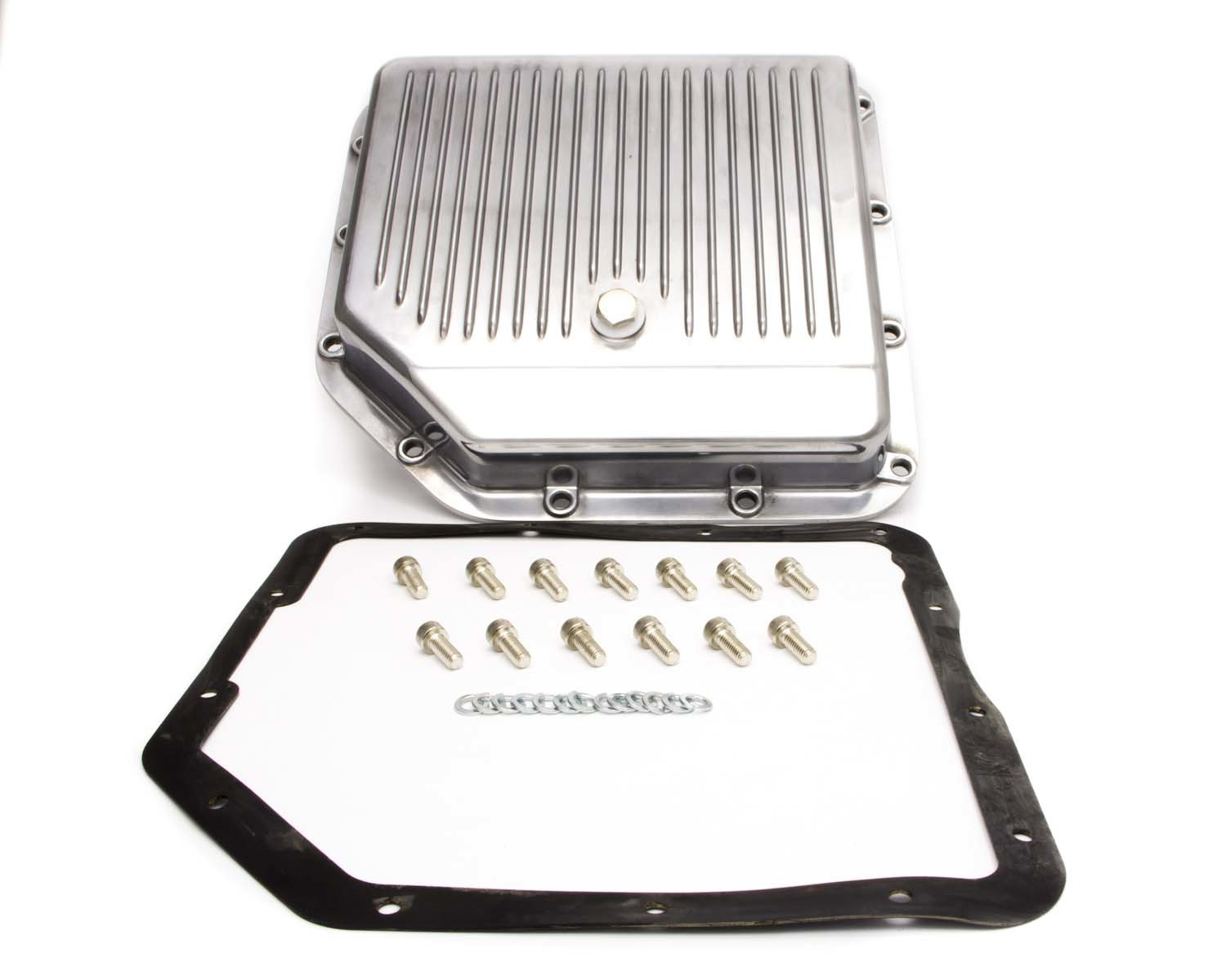 Racing Power Co-packaged TH350 Aluminum Trans Pan Polished 350 turbo Pan