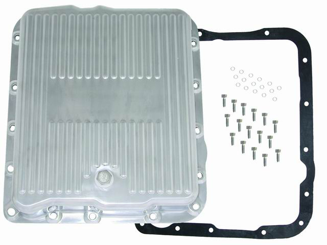 Racing Power Co-packaged Alum Trans Pan Gm 700R4- Extra Capacity-Pol
