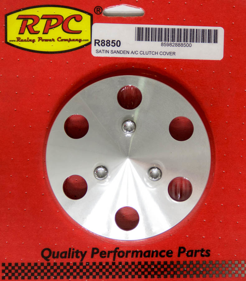 Racing Power Co-packaged Aluminum A/C Clutch Cover