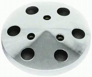 Racing Power Co-packaged Polished Aluminum Sanden A/C Clutch Cover