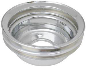 Racing Power Co-packaged 64-67 Ford 289 Double Groove Pulley Lower