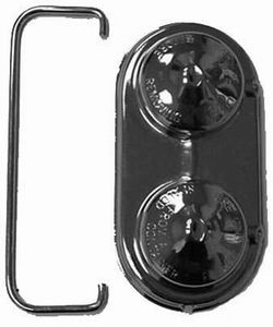 Racing Power Co-packaged GM Master Brake Cylinder Cover Chrome