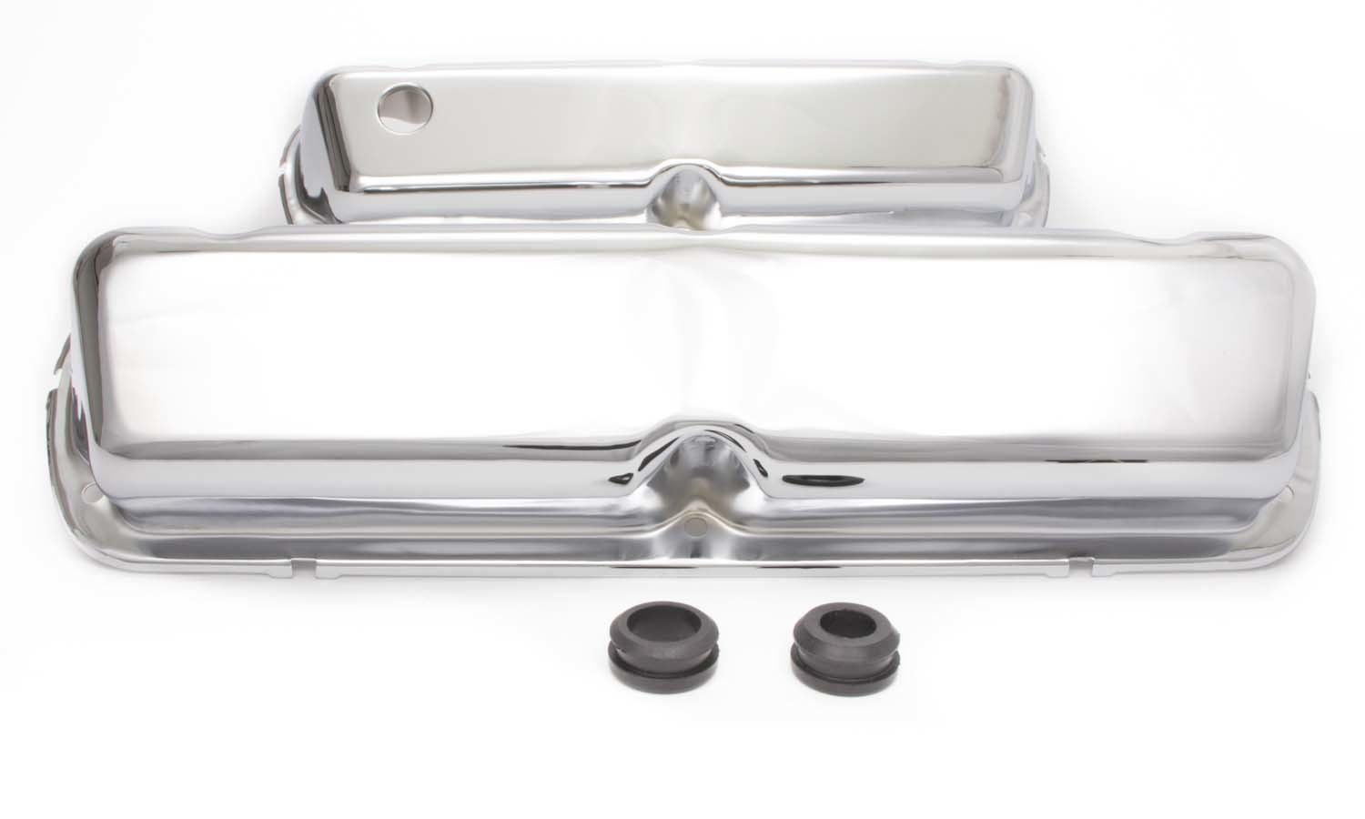 Racing Power Co-packaged 86-95 Mustang 5.0L Valve Cover Chrome