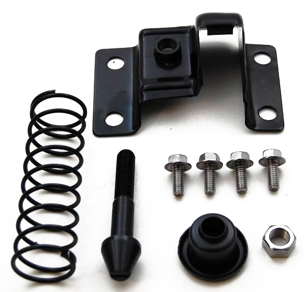 Racing Power Co-packaged Hood Safety Latch Camaro 1967-81 Black