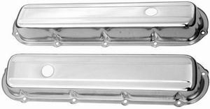 Racing Power Co-packaged Cadillac 368-500 Short Valve Covers Pair