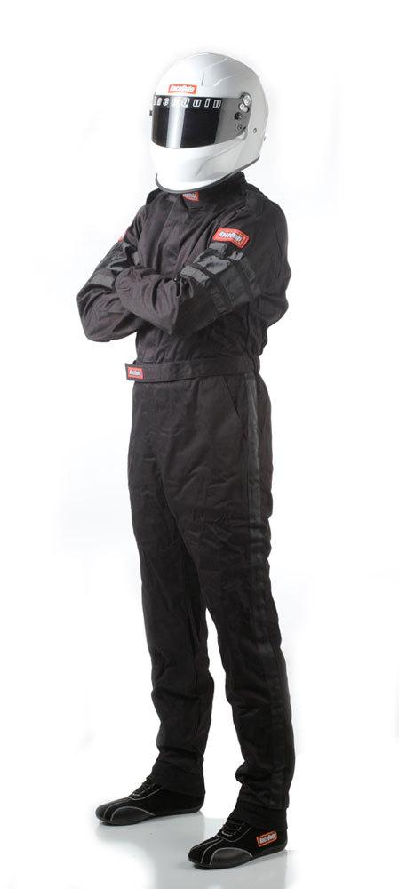 Racequip Black Suit Single Layer XX-Large