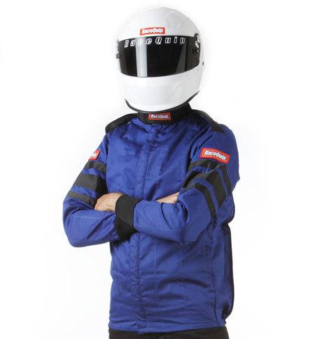 Racequip Blue Jacket Multi Layer Medium