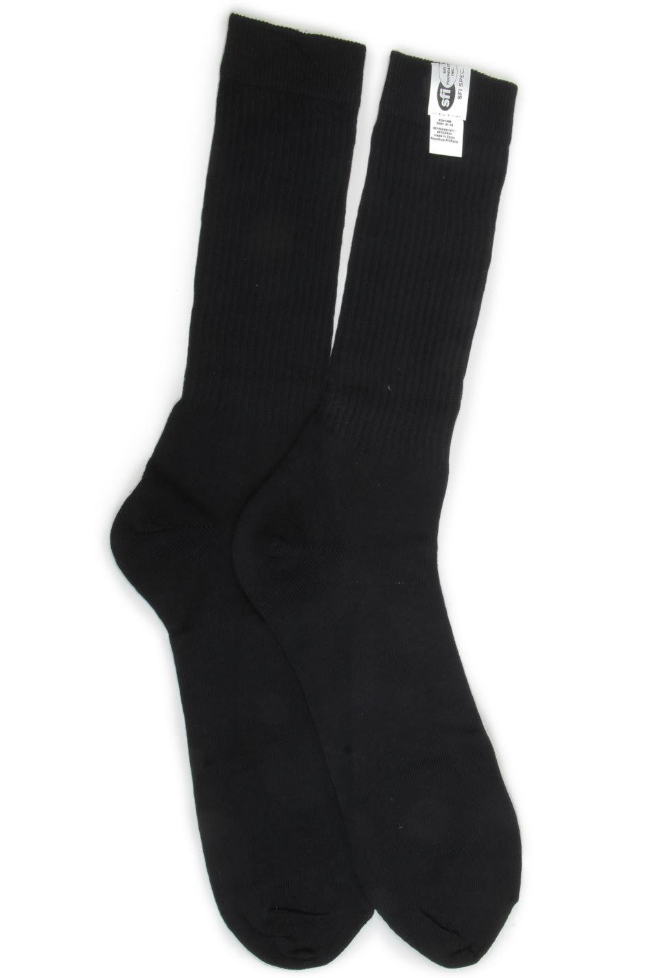 Racequip Socks FR Medium 8-9 Black SFI 3.3
