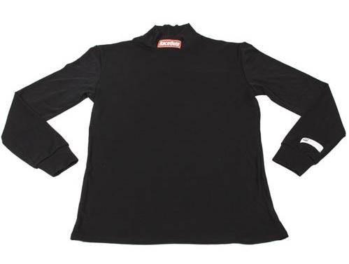Racequip Underwear Top FR Black Small SFI 3.3