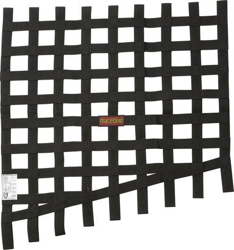 Racequip Window Net Drag 24 to 18x23 SFI Black