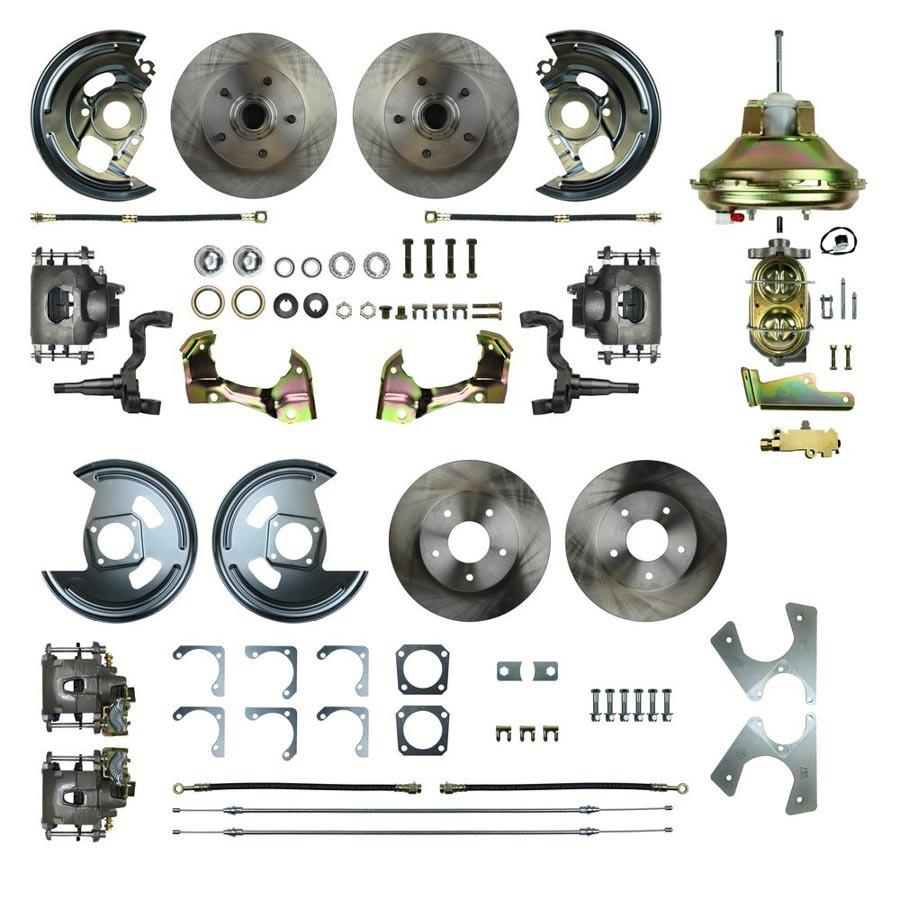 Right Stuff Detailing 4 Wheel Disc Brake Conversion Kit