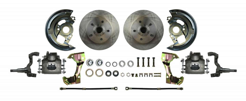 Right Stuff Detailing Disc Brake Wheel Kit 67-69 Camaro