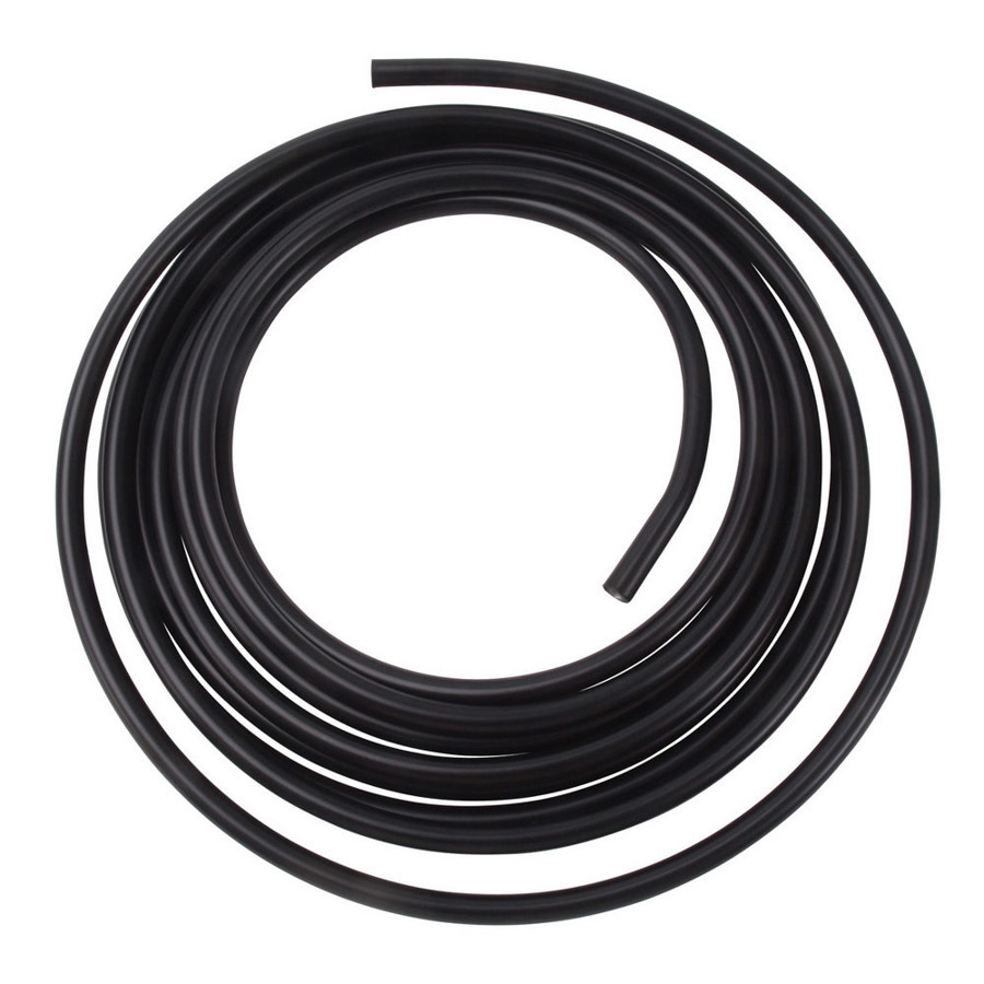 Russell 3/8 Aluminum Fuel Line 25ft - Black Anodized
