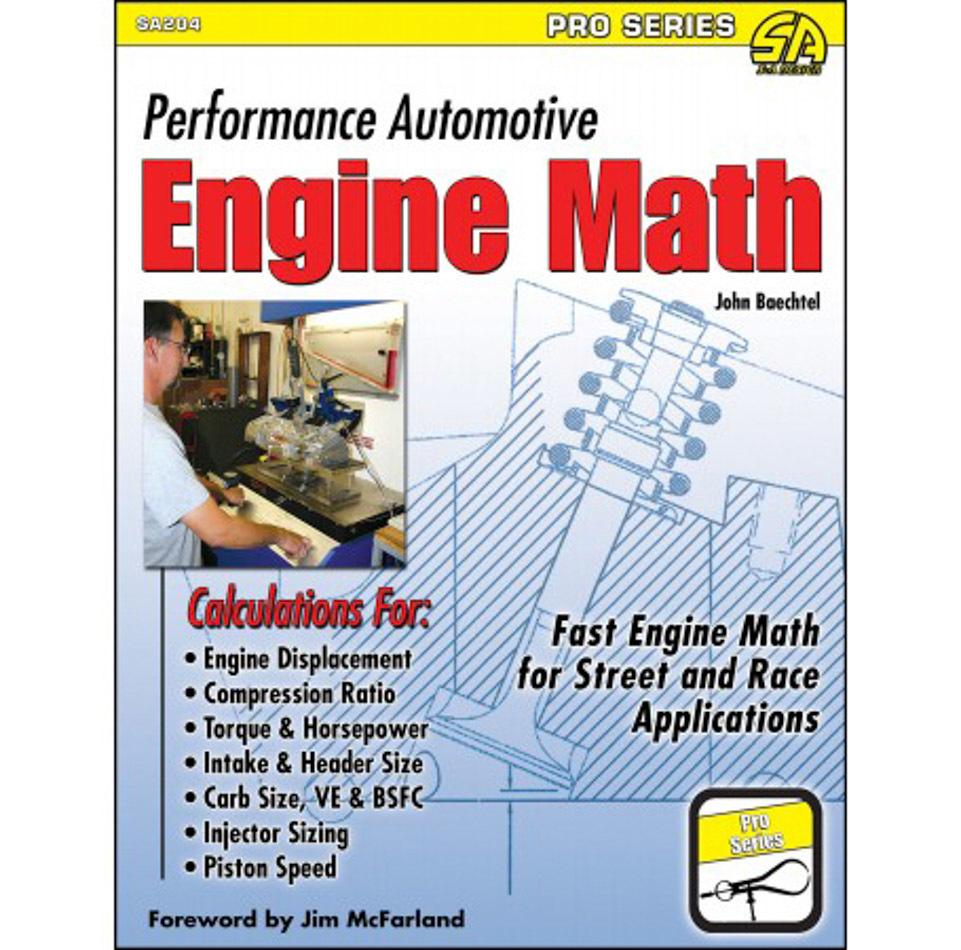 S-a Books Performance Automotive Engine Math