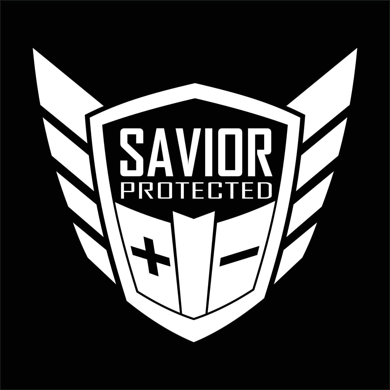 Savior Products Savior Window Decal Each White