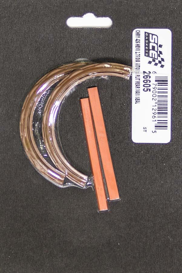 Sce Gaskets BBM 426 Hemi Rear Main Seal - Viton