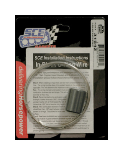 Sce Gaskets .041 SS Wire & Install Kit
