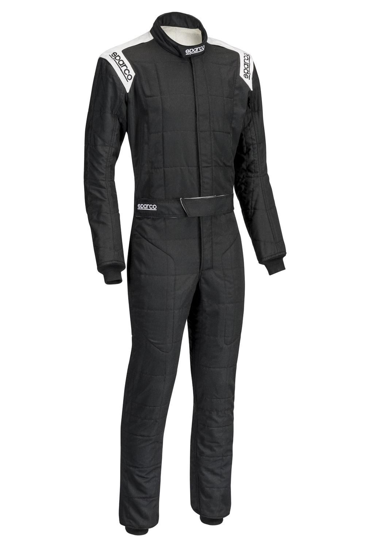 Sparco Suit Conquest Blk/White X-Large / XX-Large