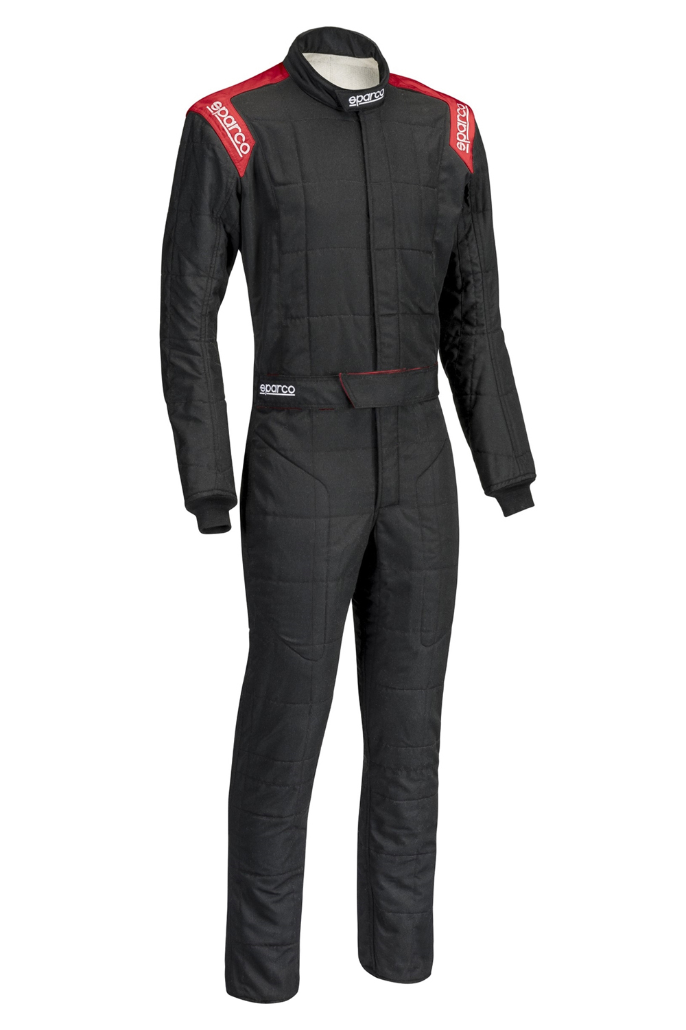 Sparco Suit Conquest Boot Cut Blk/Red X-Lrg / XX-Lrg