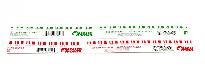 Sealed Power Plastigage Kit
