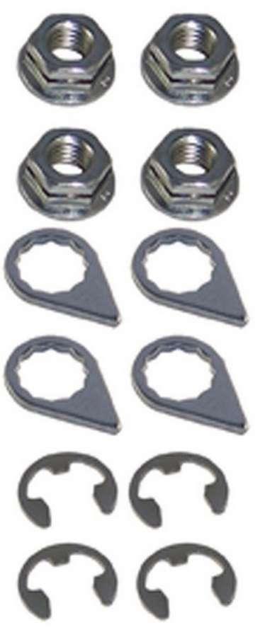 Stage 8 Fasteners Turbo Locking Nut Kit - 8mm x 1.25 (4)