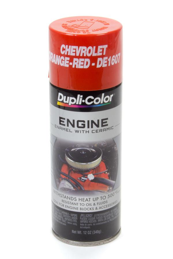 Dupli-color/krylon Chevy Orange/Red Engine Paint 12oz