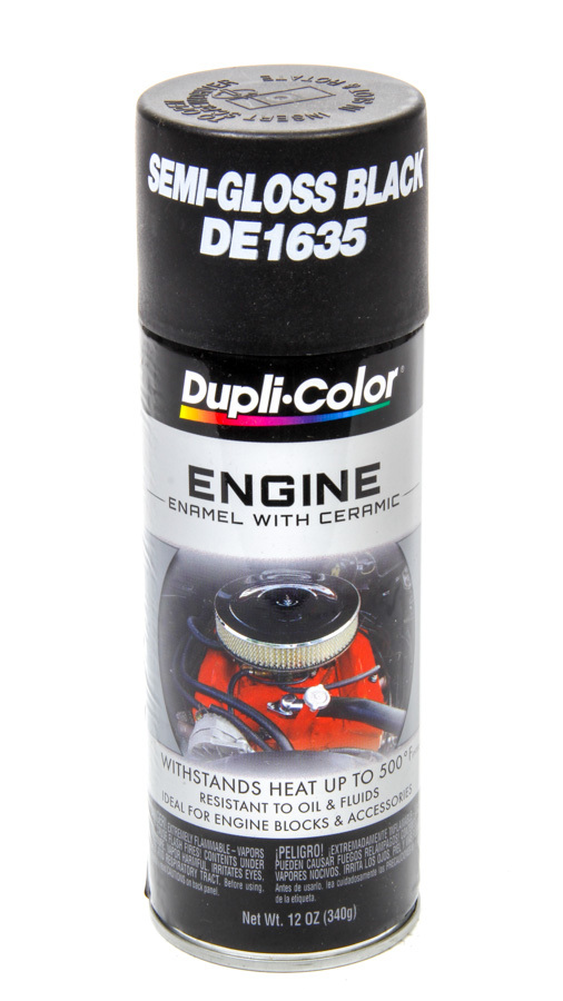 Dupli-color/krylon Ford Semi Gloss Black Engine Paint 12oz