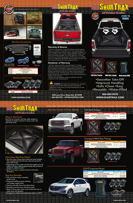 Shurtrax Tri-Fold For Consumer