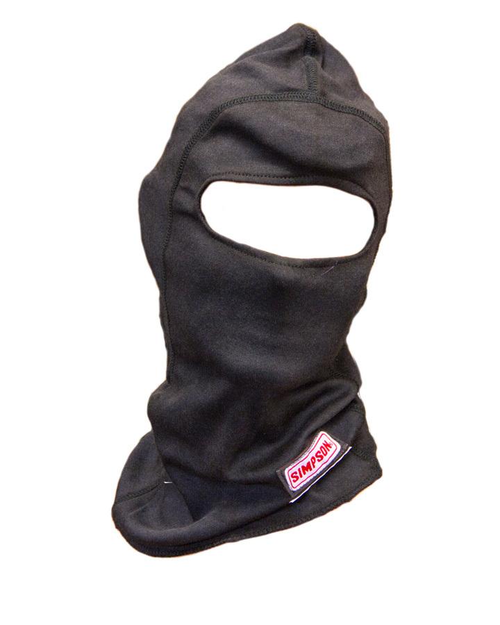 Simpson Safety Carbon X Head Sock Single Eyeport Black