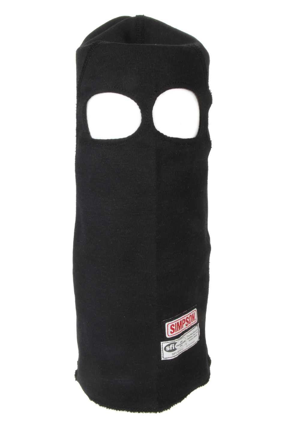 Simpson Safety Nomex Head Sock Black Dual Eyeport