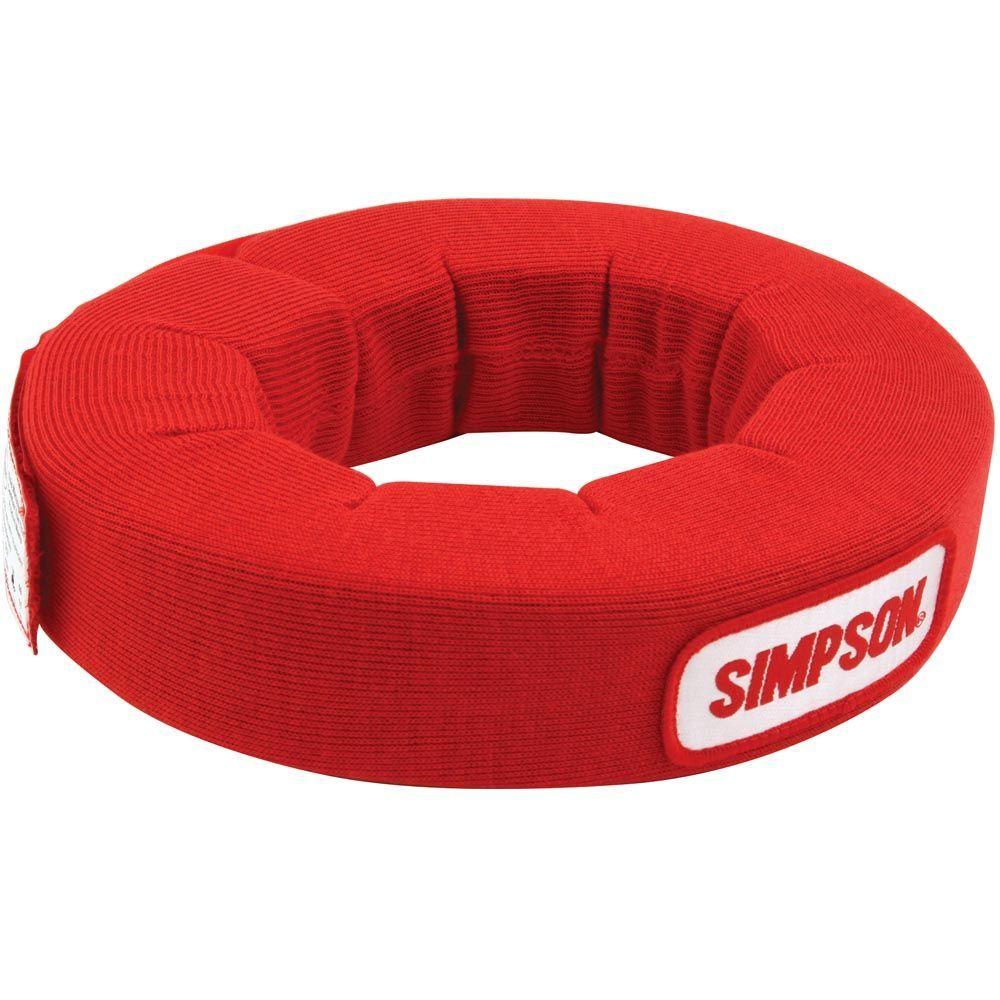 Simpson Safety Neck Collar SFI Red