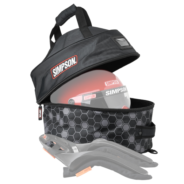 Simpson Safety Helmet and FHR Combo Bag 2020