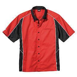Simpson Safety Talladega Crew Shirt Lg Red