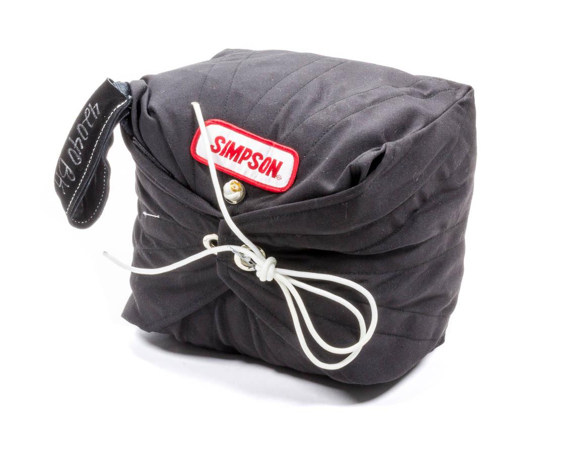 Simpson Safety Chute 10Ft Air Boss Black