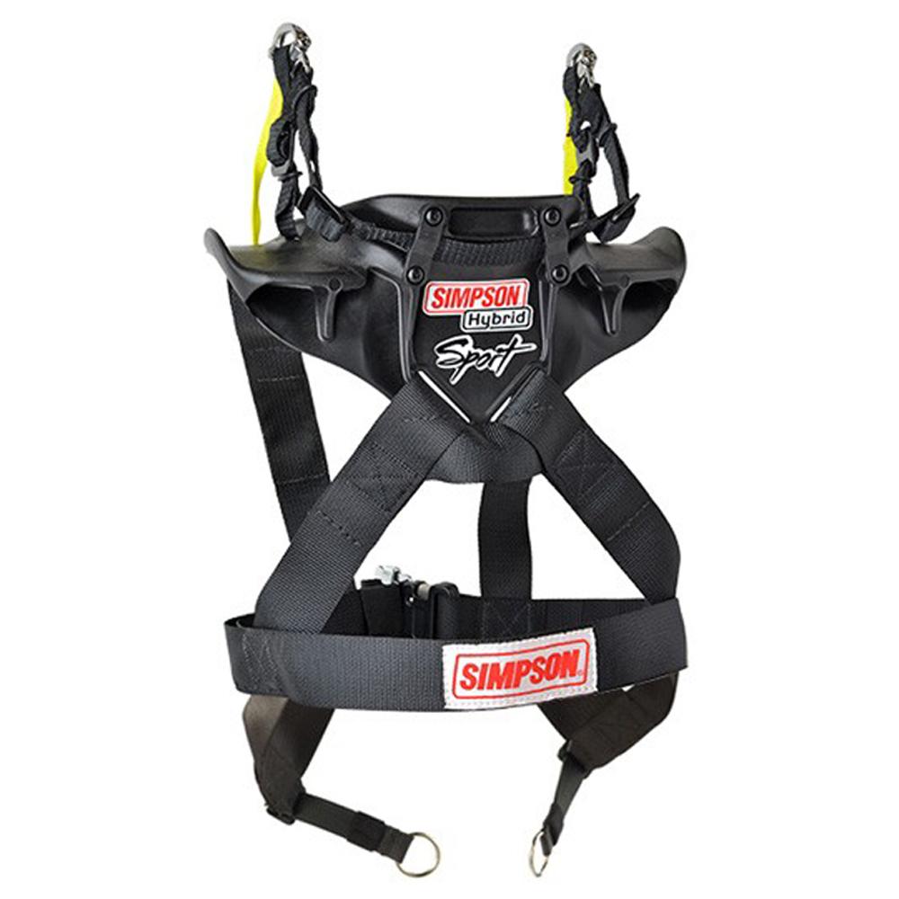 Simpson Safety Hybrid Sport Large w/ Sliding Tether - SFI
