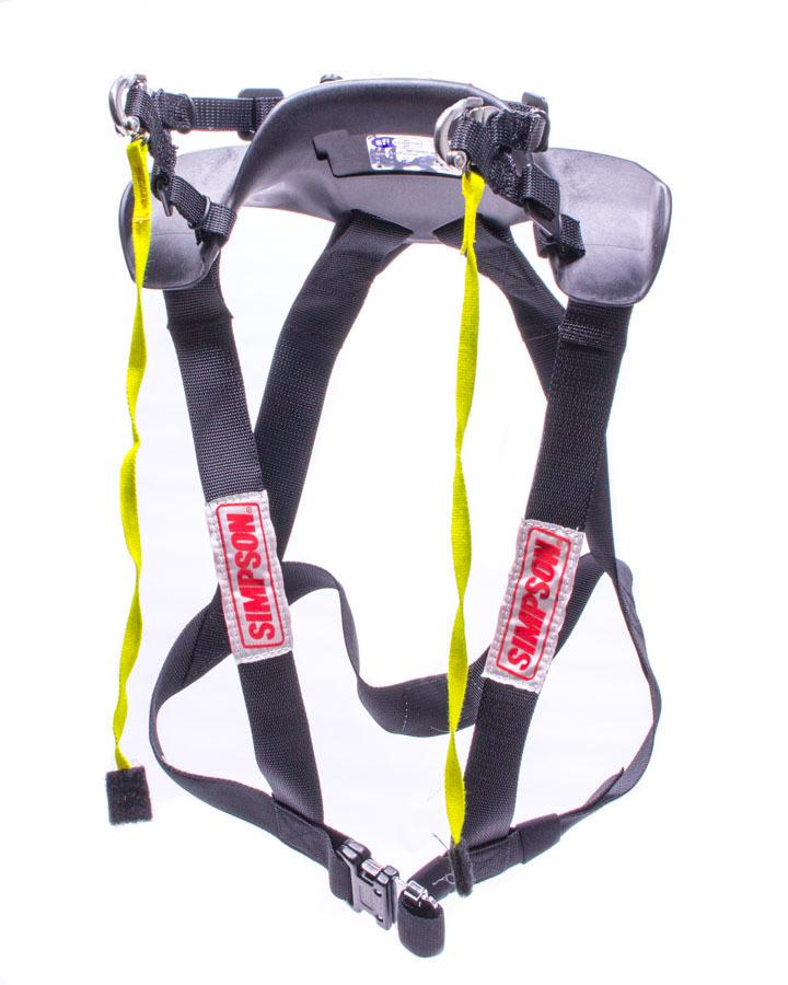 Simpson Safety Hybrid Sport Small w/ Sliding Tether - SFI