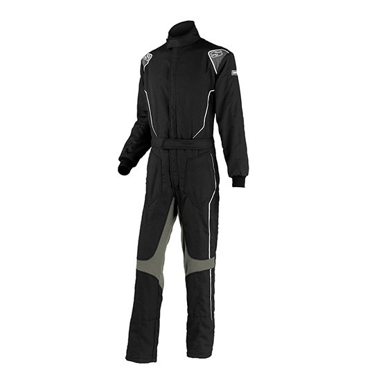 Simpson Safety Helix Suit Youth Medium Black / Gray