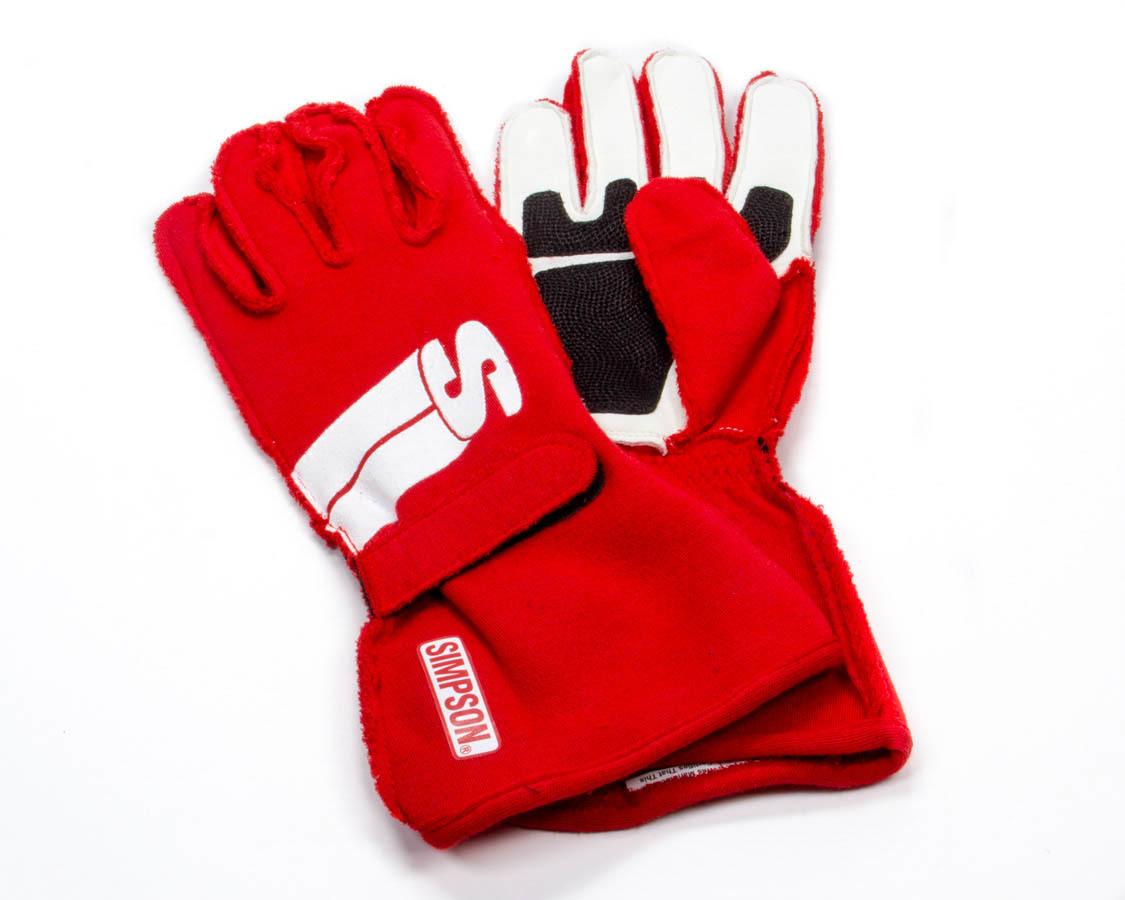 Simpson Safety Impulse Glove Medium Red