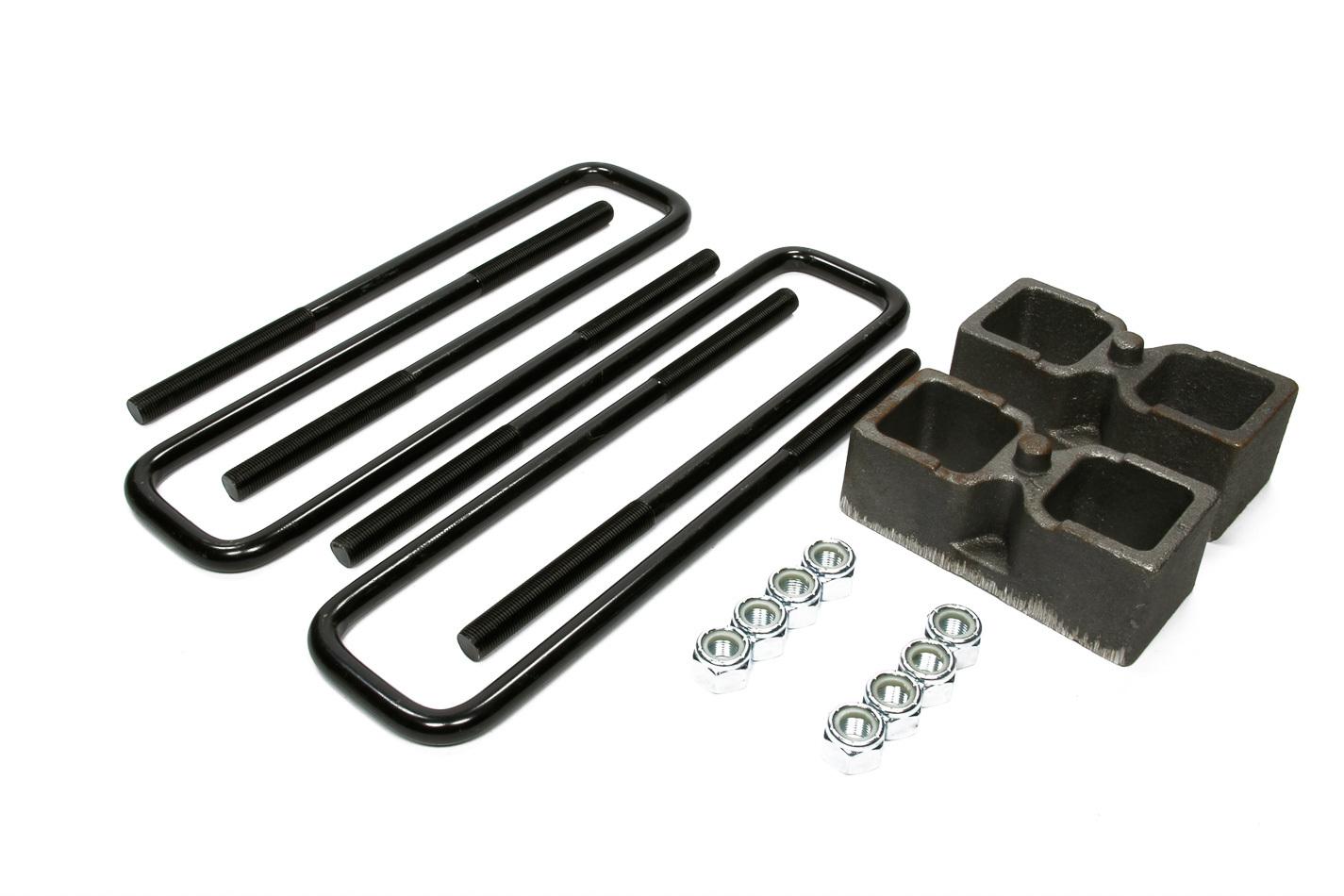 Skyjacker Rear Block Kit 2in with U-Bolts