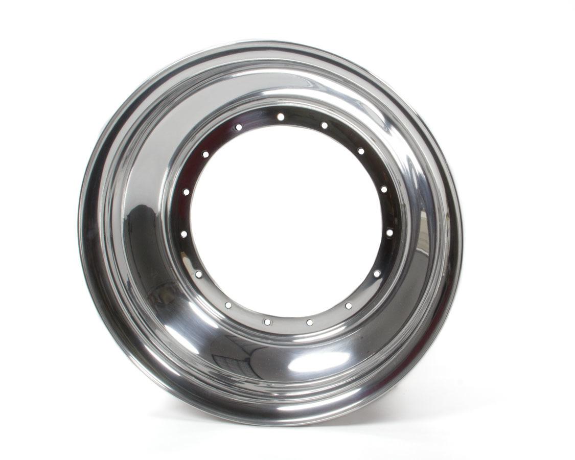 Sander Engineering 15in x 4in Wheel Half No Lock Ring