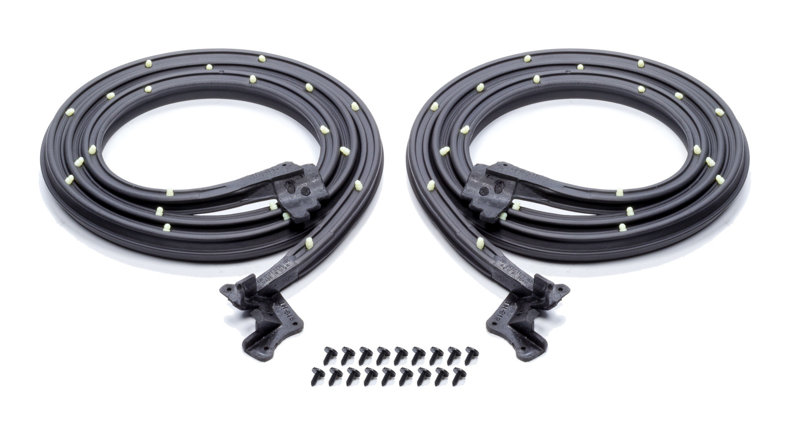 Soff Seal International Door Weatherstrip with C lips and Molded Ends