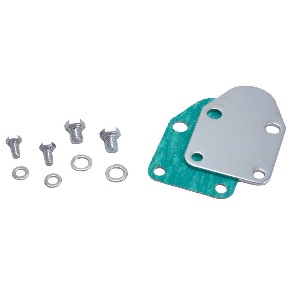 Spectre SBC Fuel Pump Block Off Plate